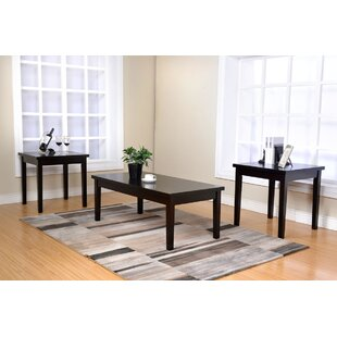 Compare prices Dupuis 3 Piece Coffee Table Set By Winston Porter