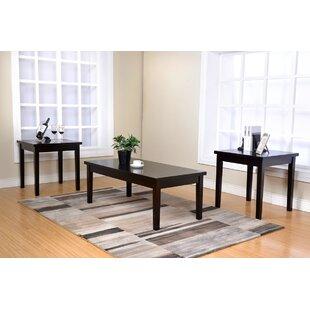 Dupuis 3 Piece Coffee Table Set
