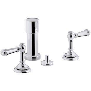 Kohler Artifacts Widespread Bidet Faucet with Lever Handles