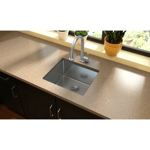 Crosstown 22 L x 19 W Undermount Kitchen Sink by Elkay