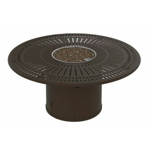 Tropitone Spectrum Aluminum Fire Pit Table