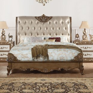 Compare prices Linzy Upholstered Panel Bed by Rosdorf Park Reviews (2019) & Buyer's Guide