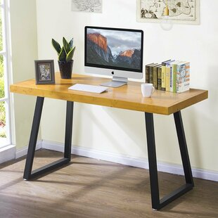 Union Rustic Lexi Solid Wood Writing Desk