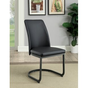 Paquette Upholstered Dining Chair (Set of 2) Brayden Studio