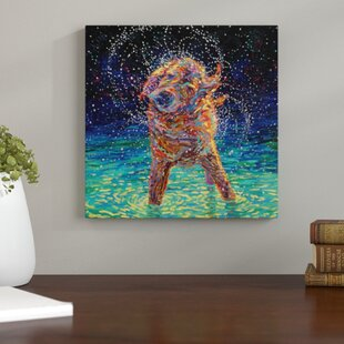 U0027Moonlight Swimu0027 Print On Wrapped Canvas