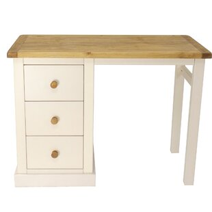 Milnor 3 Drawer Dressing Table By August Grove