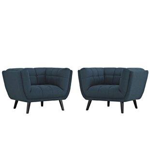 Brayden Studio Seneca Armchair (Set of 2)