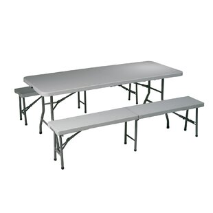 Office Star Products Folding Picnic Table and Bench