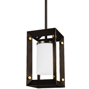 Neston 1-Light Square/Rectangle Pendant by Wrought Studio