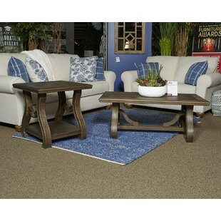 Gracie Oaks Peggy 2 Piece Coffee Table Set