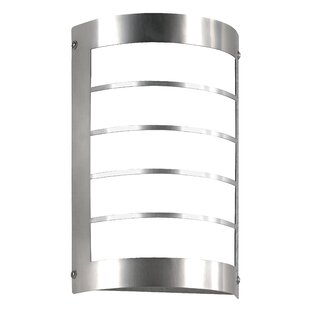 LED Outdoor Armed Sconce With Motion Sensor By CMD