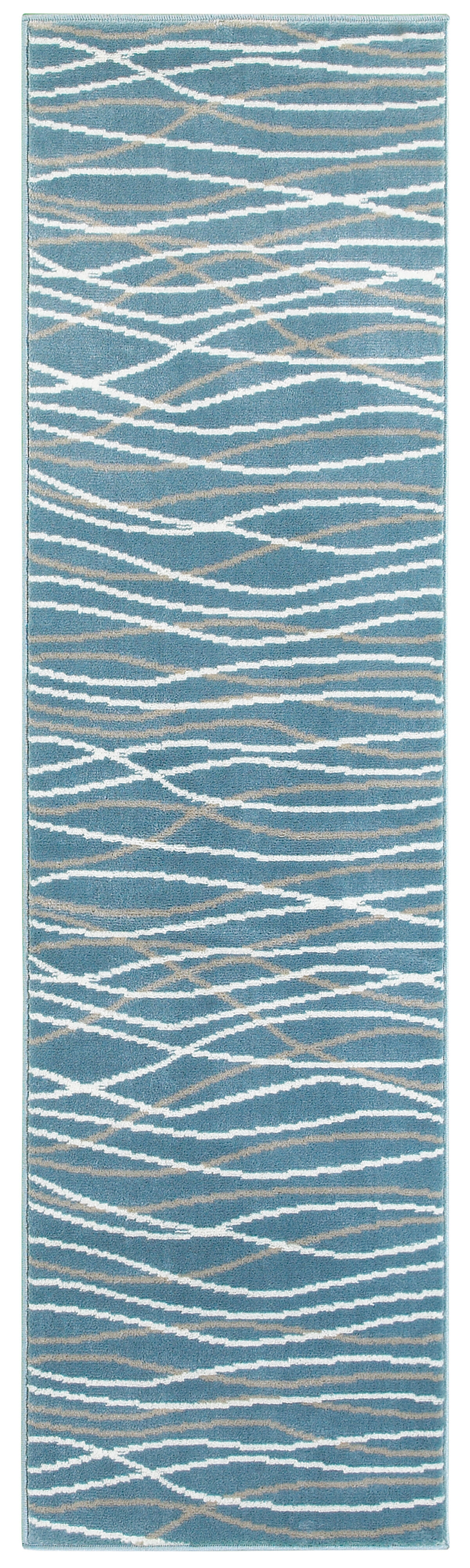 Orren Ellis Ky Abstract Teal Area Rug Reviews Wayfair
