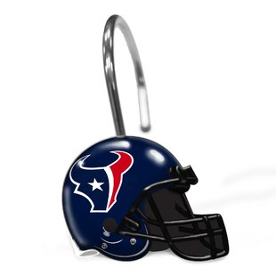 NFL Helmet Shower Curtain Hooks