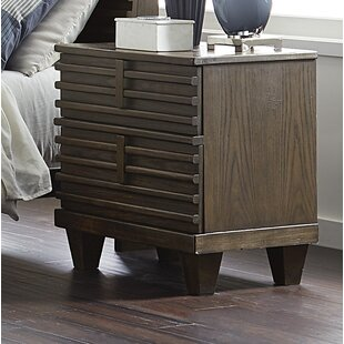 Old Down 2 Drawer Nightstand by Union Rustic