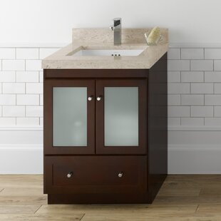 Shaker 24 Single Bathroom Vanity Base by Ronbow