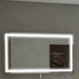 Searching for Harmony Illuminated Bathroom/Vanity Wall Mirror By Paris Mirror