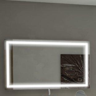 Affordable Harmony Illuminated Bathroom/Vanity Wall Mirror ByParis Mirror