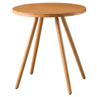 Wrought Studio Bamboo Round Dining Table