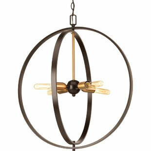Jaunita 4-Light Globe Chandelier by 17 Stories