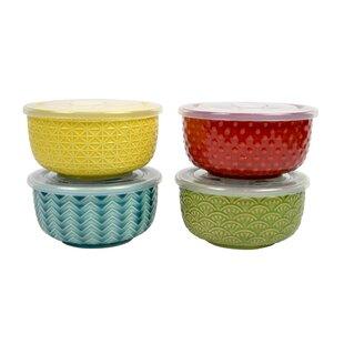 Guthrie Reusable 4 Piece Salad Bowl Set
