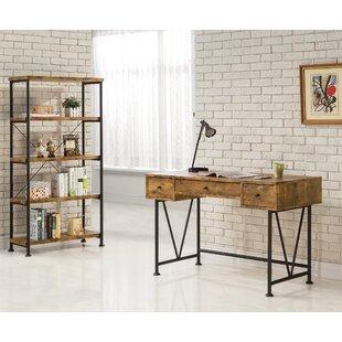 Laurel Foundry Modern Farmhouse Epineux 2 Piece Desk Office Suite