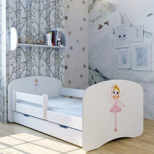 Ballerina Tanja Bed With Mattress And Drawer By Zoomie Kids