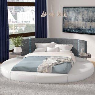 Clower Upholstered Platform Bed by Orren Ellis