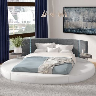 Order Clower Upholstered Platform Bed by Orren Ellis Reviews (2019) & Buyer's Guide