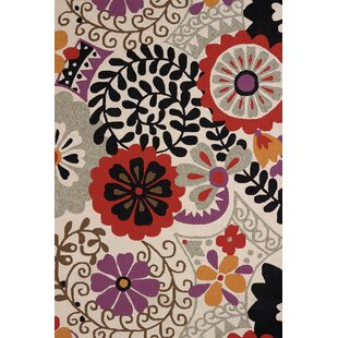 Hibiscus Atrium Handmade Indoor/Outdoor Area Rug