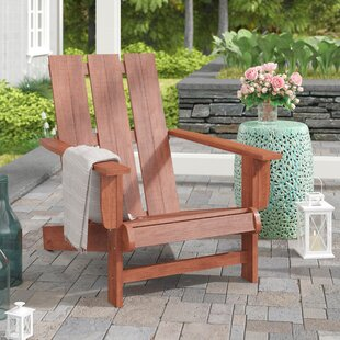 Pine Hills Solid Wood Adirondack Chair