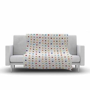 Empire Ruhl Fall Dots Digital Fleece Blanket ByEast Urban Home