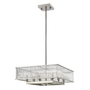 Price comparison Cesar 8-Light Square/Rectangle Chandelier By Brayden Studio