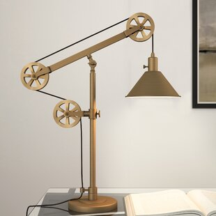 Brass Desk Table Lamps Youu0027ll Love In 2019 | Wayfair