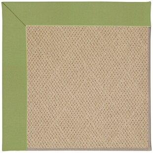 Lisle Machine Tufted Green/Brown Indoor/Outdoor Area Rug
