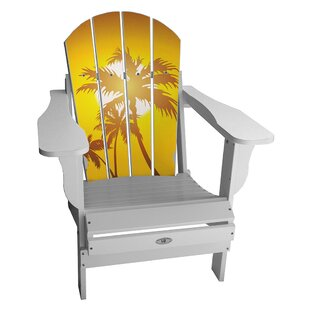 Latitude Run Kenworthy Plastic Folding Adirondack Chair