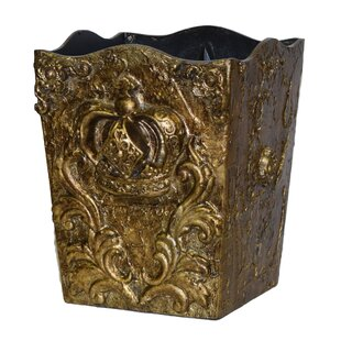 Hickory Manor House Crown Resin Waste Basket