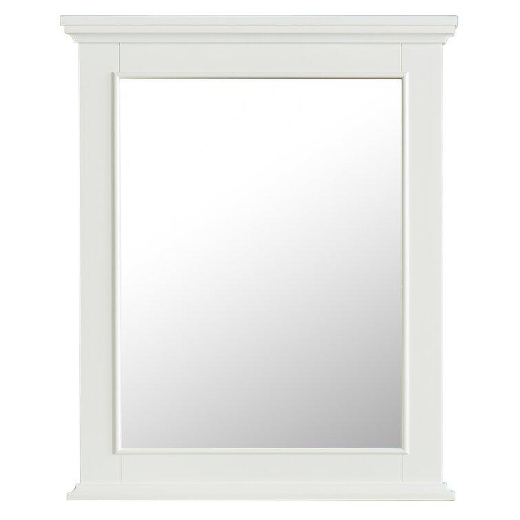 Breakwater Bay Mauriello Coastal Bathroom Mirror Reviews Wayfair