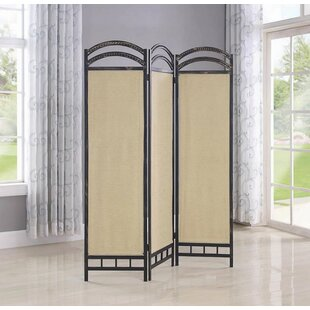 Miron 3 Panel Room Divider by Alcott Hill