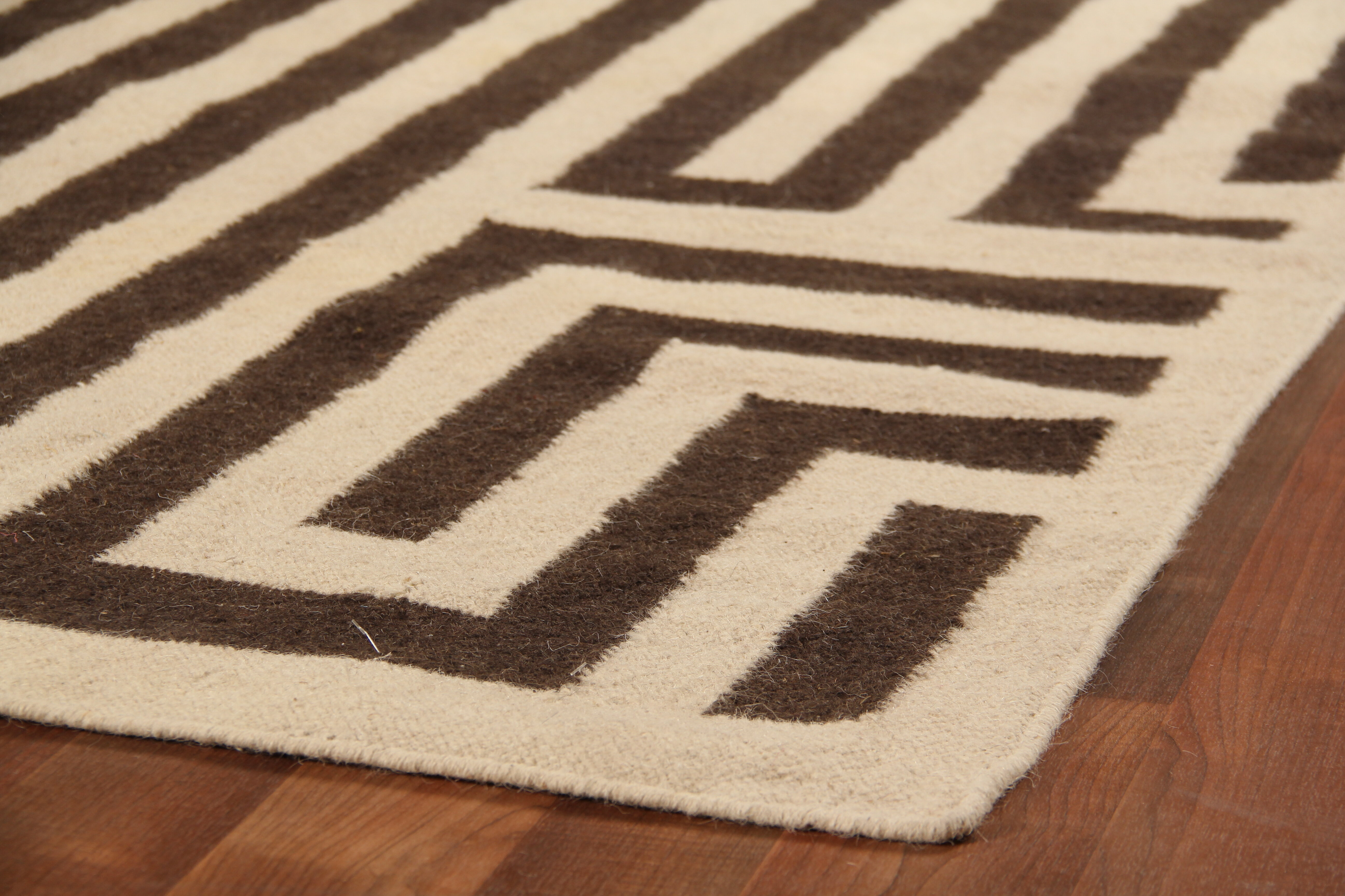 Exquisite Rugs Flat Woven Wool