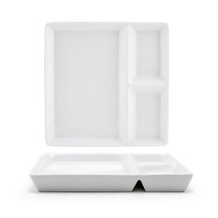 Mod 7 5 Square Divided Plate Set Of 4