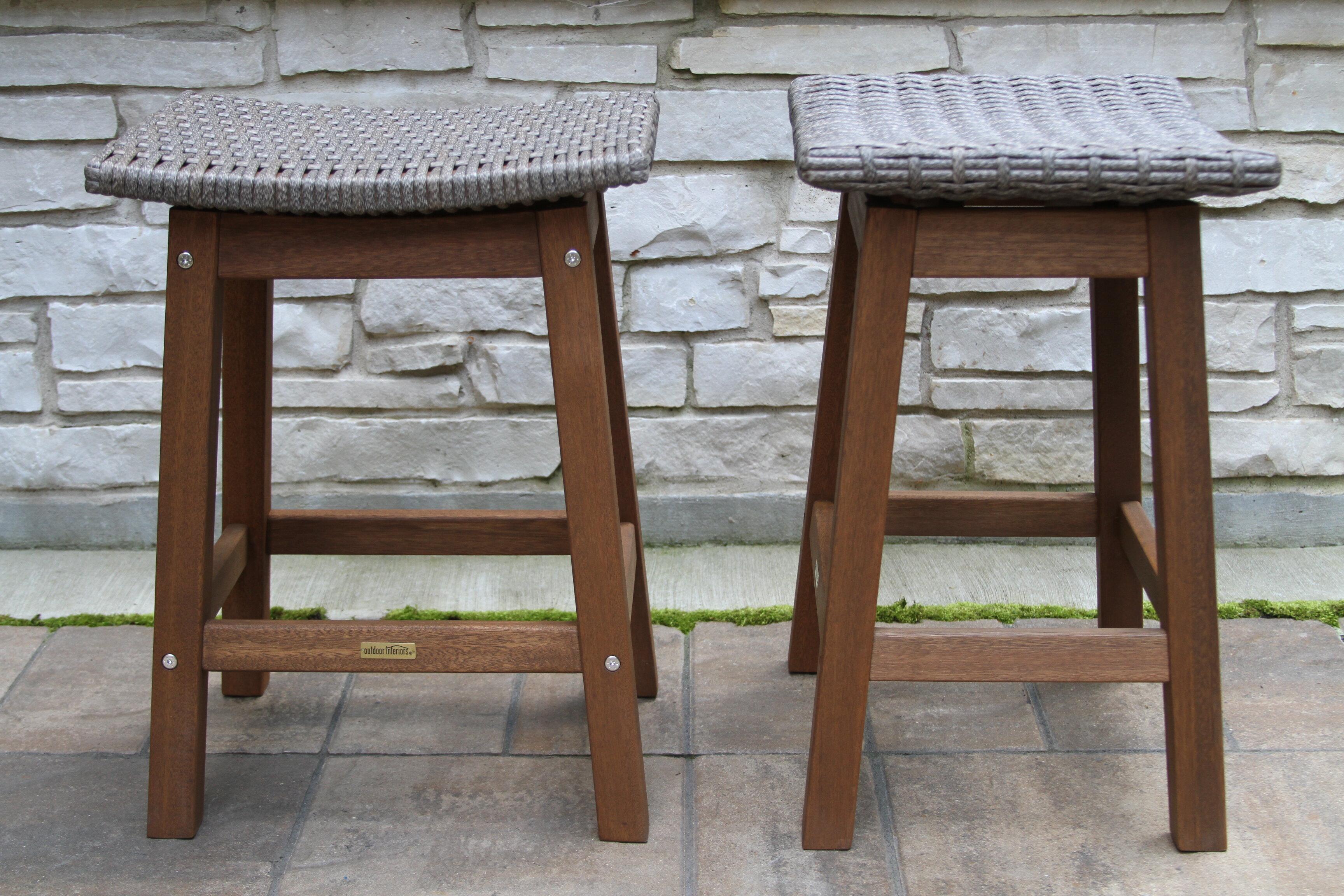 Prime Jeffers Wicker 24 Patio Bar Stool Unemploymentrelief Wooden Chair Designs For Living Room Unemploymentrelieforg