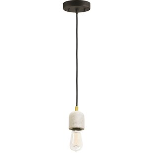 Ren-Wil Talisman 1-Light Bulb Pendant