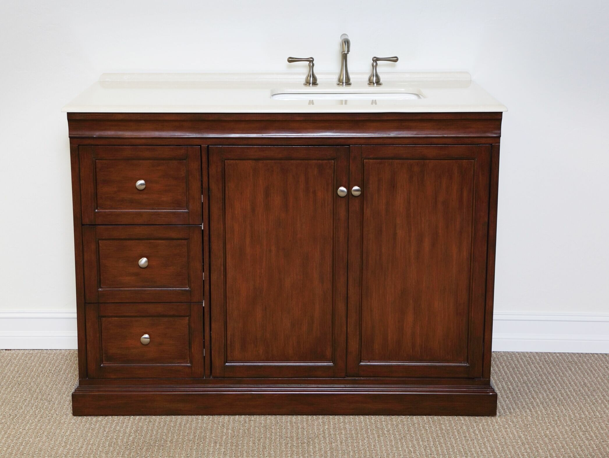 Charlton Home Francesca 48 Single Bathroom Vanity Set & Reviews