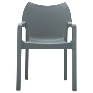 Hinnenkamp Stacking Patio Dining Chair (Set of 4) by Zipcode Design