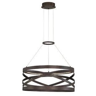 Brayden Studio Shealey 1-Light LED Drum Pendant