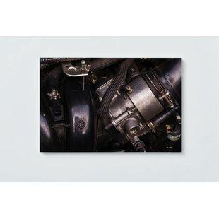 Motor Motif Magnetic Wall Mounted Cork Board By Ebern Designs