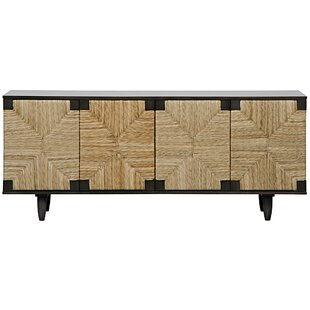 Brook 4 Door Sideboard Noir