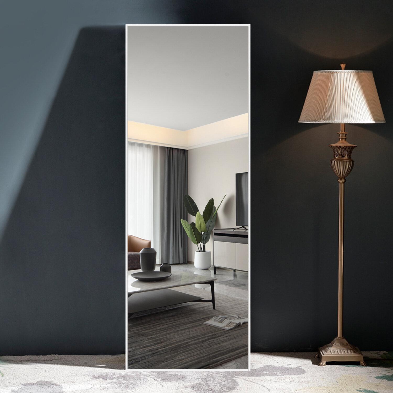 White Floor Mirrors You Ll Love In 2021 Wayfair