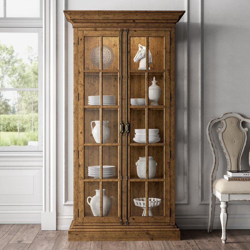 Summit Lighted Curio Cabinet