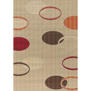 Affordable Walmsley Tan Indoor/Outdoor Area Rug By George Oliver